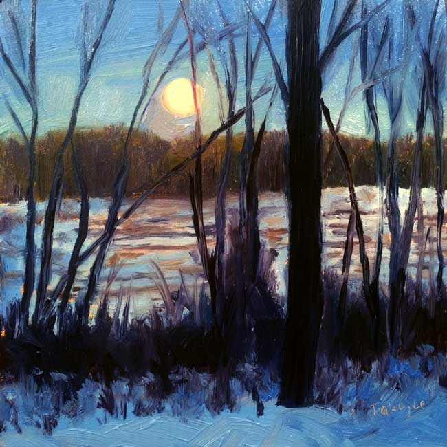 Winter Moon Rising