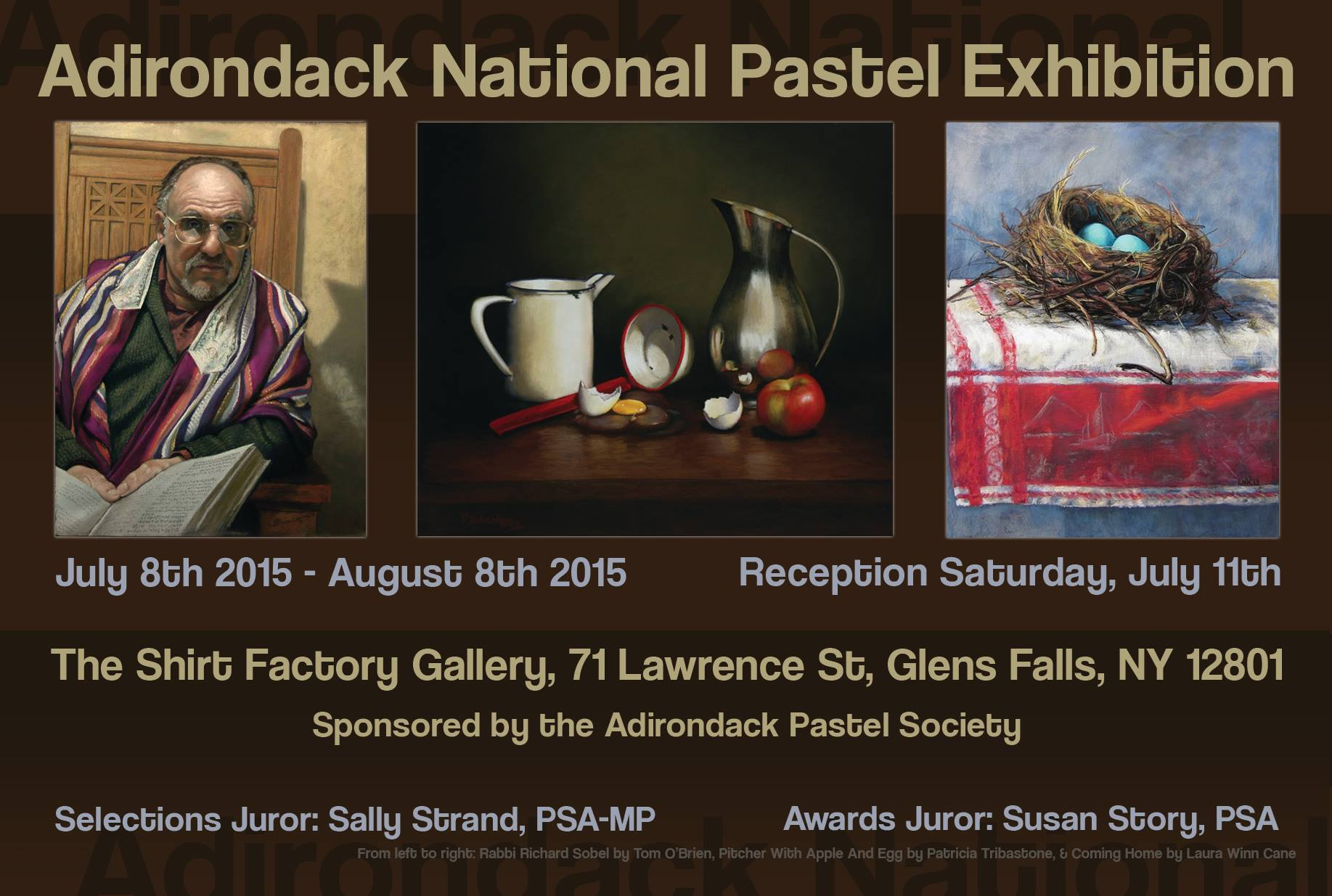 Adirondack Nation Pastel Exhibition