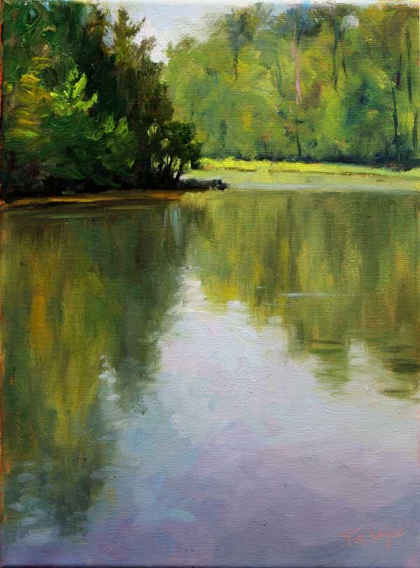 Lake at Yaddo