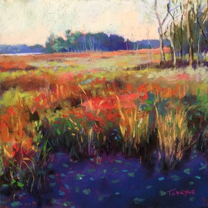 Marsh Shadows | 6x6"