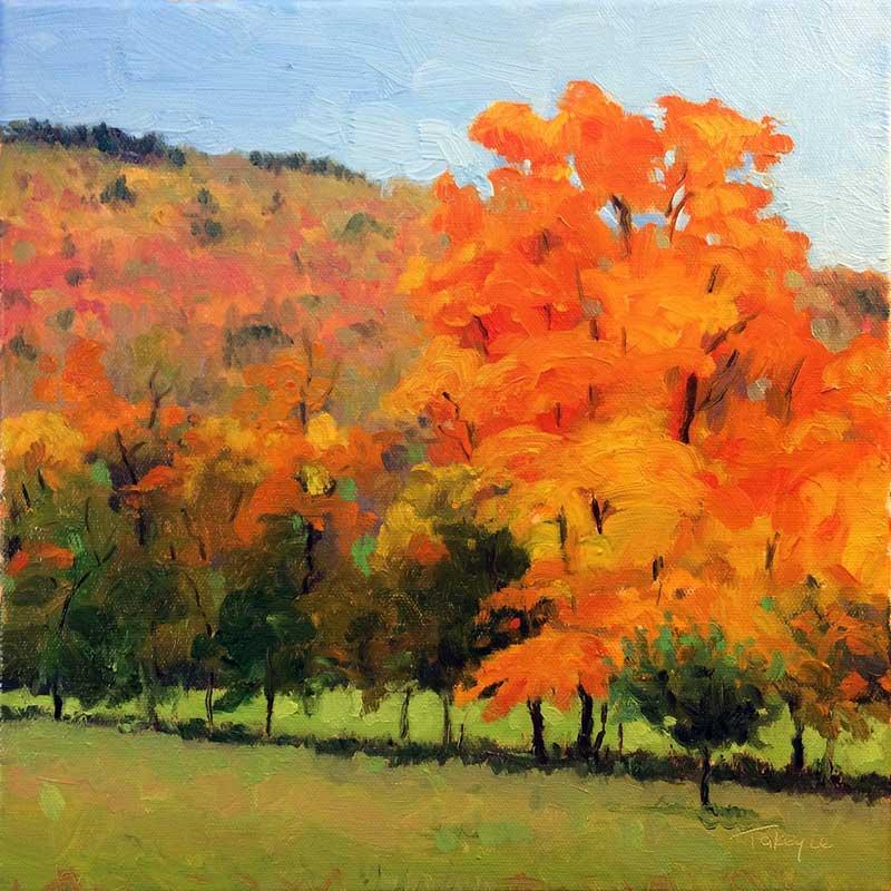 Orange Glow by Takeyce Walter